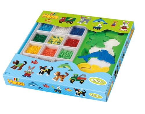 Basteln & Kreativität Schnelle Lieferung Hama Super Geschenkpackung Grün 6.000 Stück