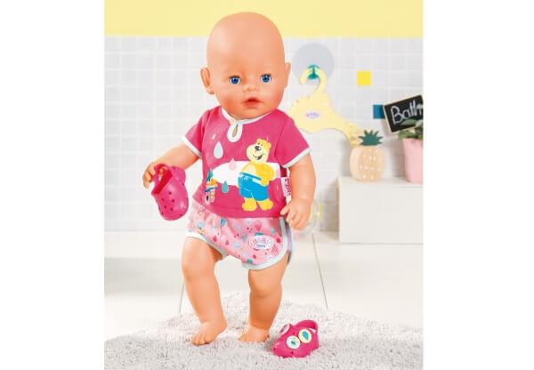 Zapf BABY born® Bath Shorty Pyjama m.Clogs Babypuppen & Zubehör