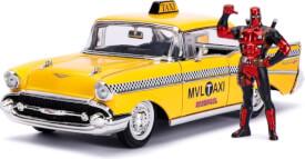 Deadpool Diecast Modell 1/24 Taxi mit Deadpool Figur