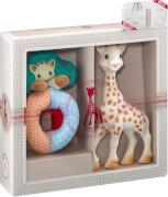Geschenkset Sophie la girafe und Rassel