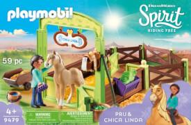 Playmobil 9479 Pferdebox ''Pru & Chica Linda''