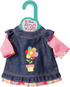 Zapf Dolly Moda Jeanskleid, Gr. 36cm