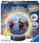 Ravensburger 11141 Puzzleball Disney Frozen 2 Nightlight 72 Teile
