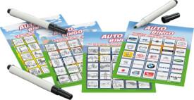 Schmidt Spiele Auto-Bingo Bring-Mich-Mit-Spiel in der Metalldose