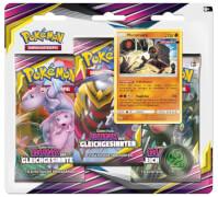 Pokémon Sonne & Mond 11 3-Pack-Blister