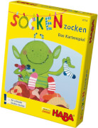 HABA - Socken zocken - Das Kartenspiel, 2-6 Spieler, ca. 10 min, ab 4 Jahren