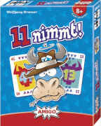 AMIGO 00960 11 nimmt!, Kartenspiel mit 110 Spielkarten, 2 bis 7 Personen, ab 8 Jahre
