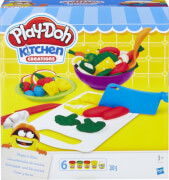 Hasbro B9012EU4 Play-Doh Schnippel- und Servierset, ab 3 Jahren