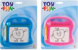 Toy Fun Zaubermaltafel, klein, 2-fach sortiert