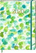 Jahreskalender: Mein Jahr 2020 (Blätterregen)