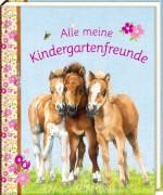 Freundebuch - Alle meine Kindergartenfreunde - Pferdefreunde, gebundenes Buch, 96 Seiten, ab 3 Jahren