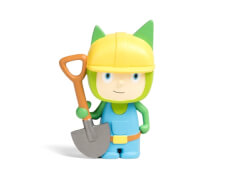 Kreativ-Tonie - Kreativ-Tonie Bauarbeiter, Leer-Tonie, ab 3 Jahren