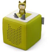 Tonies® Starterset - Toniebox Grün mit Kreativ-Tonie