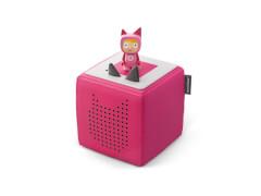 Tonies® Starterset - Toniebox Pink mit Kreativ-Tonie, ab 3 Jahren.