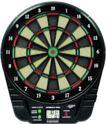 CARROMCO ELEKTRONIK DARTBOARD COBRA-501, 3-LOCH ABSTAND