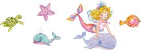 Tattoos Prinzessin Lillifee (Meerjungfrau)