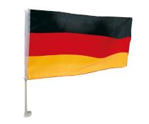 Happy People Autofahne Deutschland ca. 45 x 30 cm