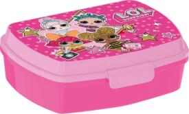p:os Brotdose''L.O.L. Surprise'', Kunststoff, ca. 17x6x13 cm, rosa-pink