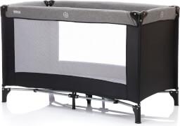Fillikid Reisebett ''Basic'', ca. 125x65 cm, grau-schwarz