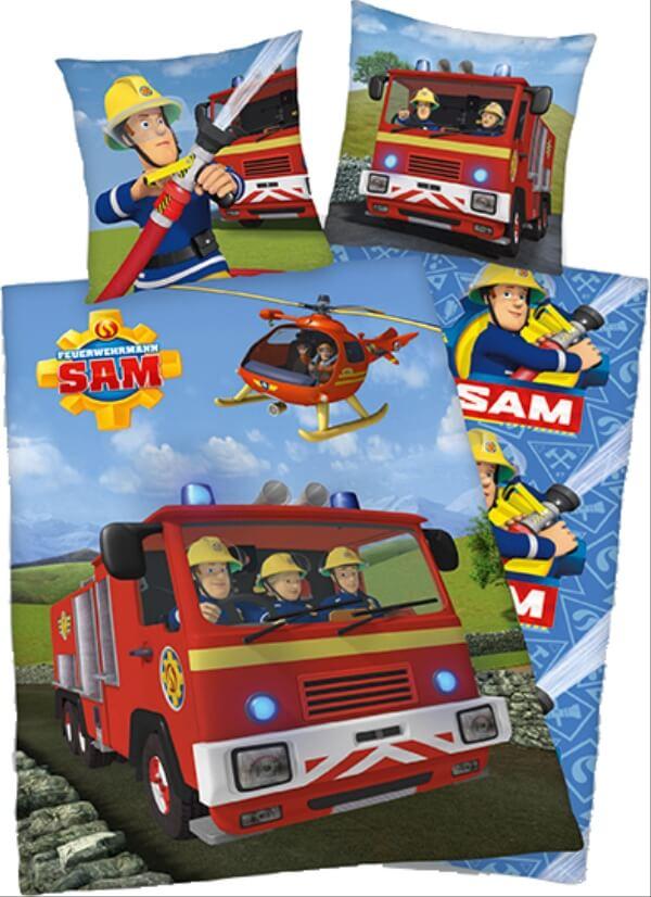 Feuerwehrmann Sam Bettwäsche 135 X 200 Cm 80 X 80 Cm 4470217050